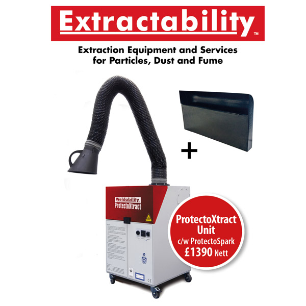 Protectoxtract Fume Extraction C/W 3Mtr Arm £1390 Plus Vat